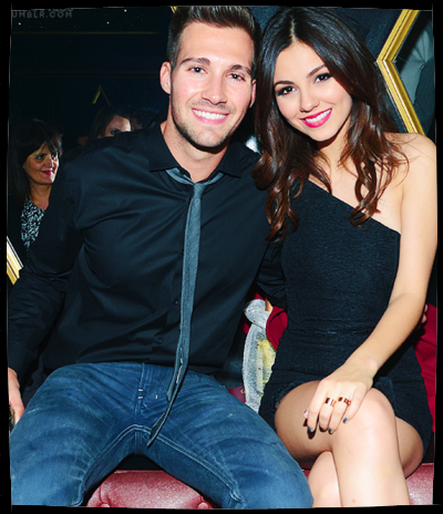 James Maslow and Victoria Justice