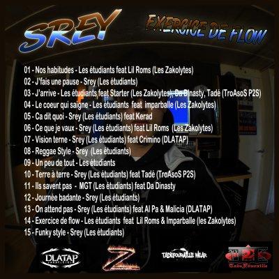 "Exercice De Flow / ""Reggae style"" SREY (2011)"