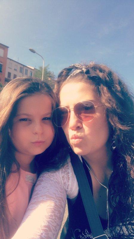 Avec ma nièce d'amour ...