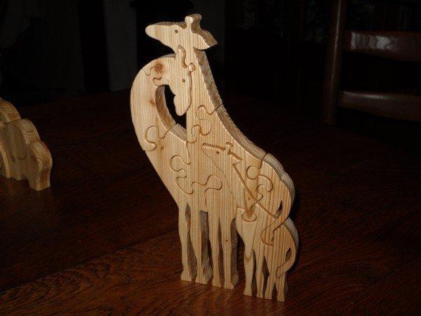 Famille giraffe