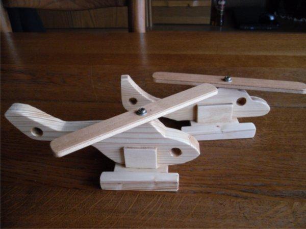Avion et hélicos