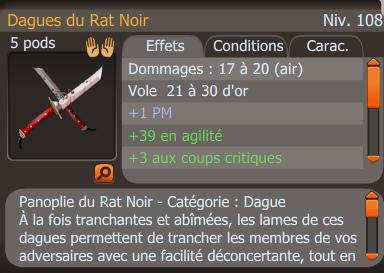 Dagues Rat Noir. (Crâ)