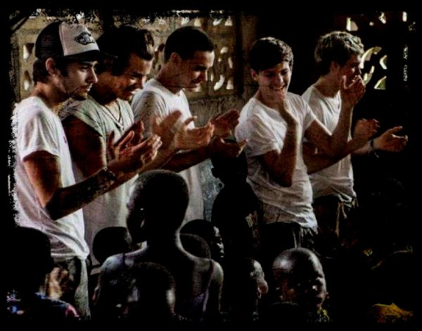 One Direction en Ghana