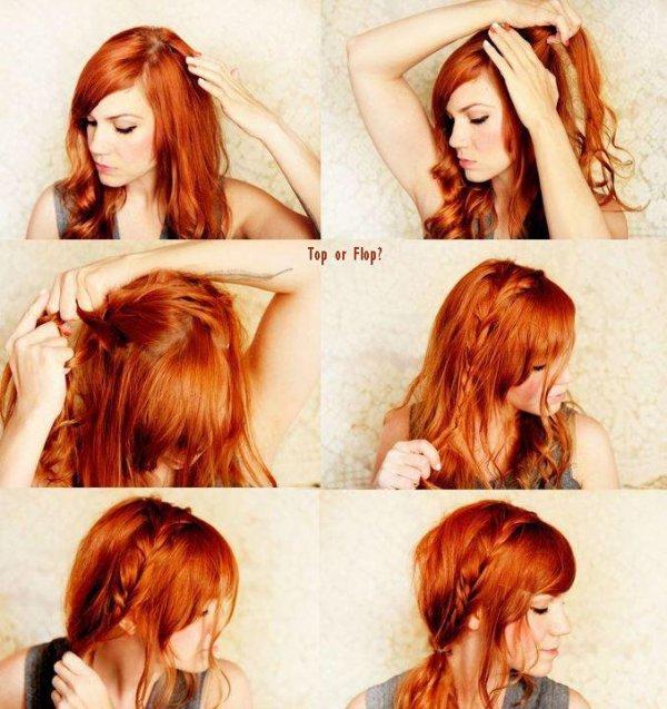 Tutoriel coiffure :D