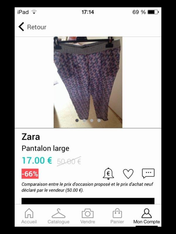 ** Pantalon Zara **