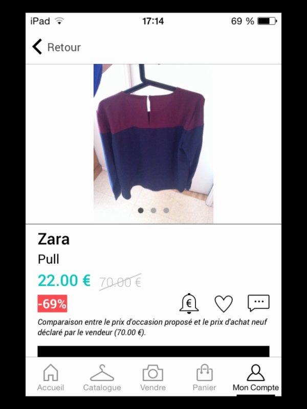 ** Haut Zara **