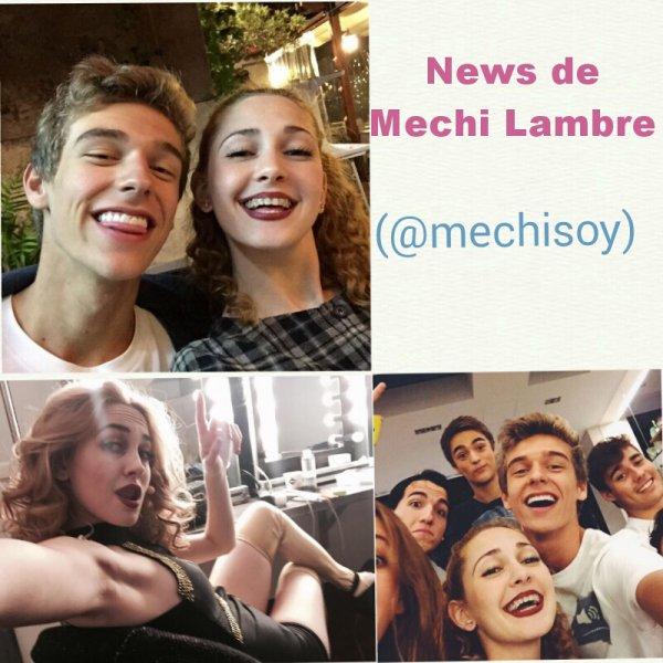 News de Mechi Lambre 🎀