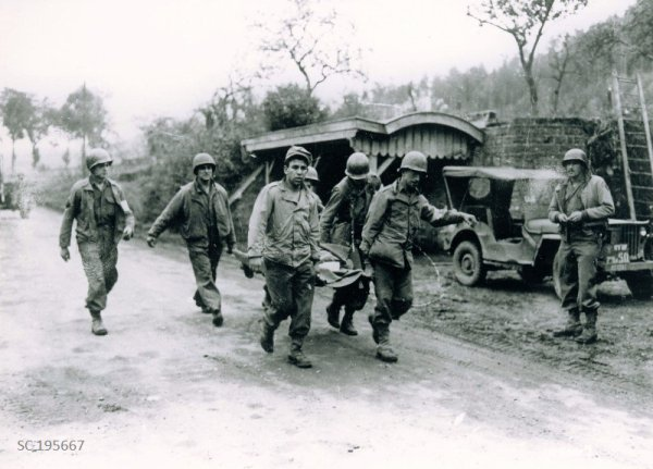 Brouvelieures 25 Oct. 1944. (town liberated by 179th Inf Rgt)