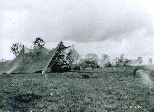 Tirs d'artillerie - Artillery fire