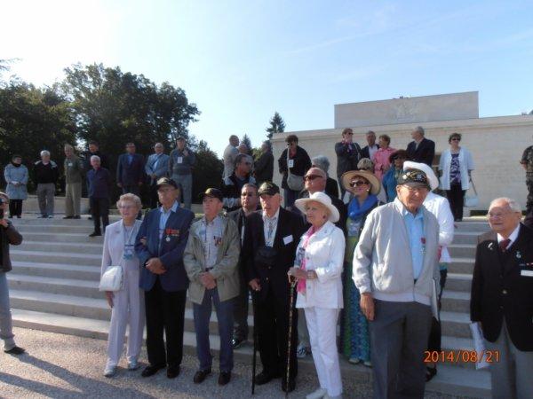Visite de véterans de la 3ème Division