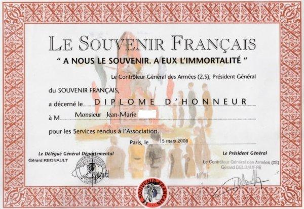 Diplôme - Diploma