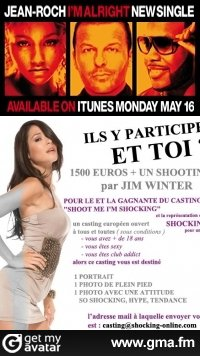 J-7 POUR ENVOYER LES PHOTOS  CASTING SHOOT ME I M SHOCKING TOUR!!!!!