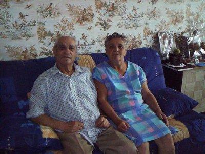 <3<3<3 Mon grand père et grand mère <3<3<3 (Steve)