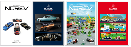 Catalogues Norev