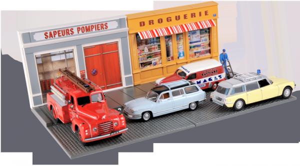 Décors pour miniatures automobiles