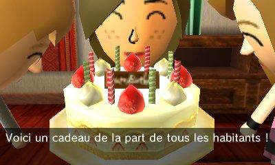 Je fête mon anniversaire !!!