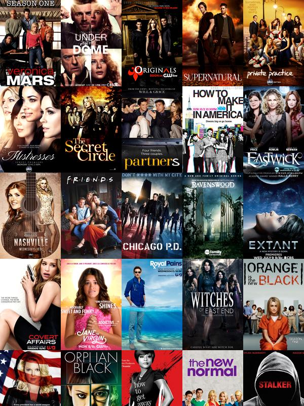 Séries TV ♥Séries que je regarde, que j'ai regardé et que je vais regarder