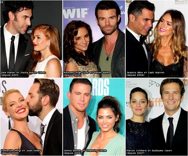 Ces couples qui durent ♥