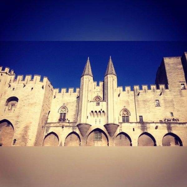 Palais des papes. #Avignon
