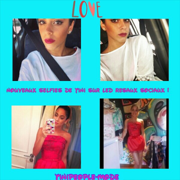 News photos de la belle tini !