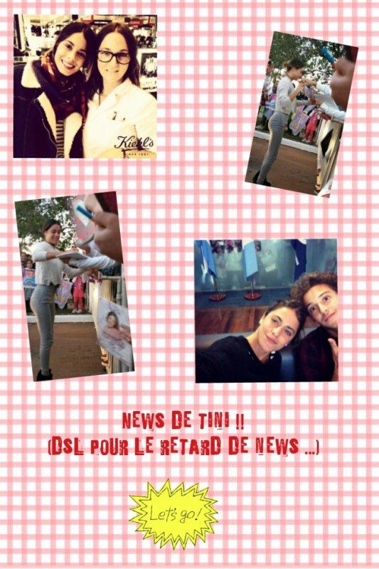 News de la magnifique tiniiiiii !!!!!!!♥♥