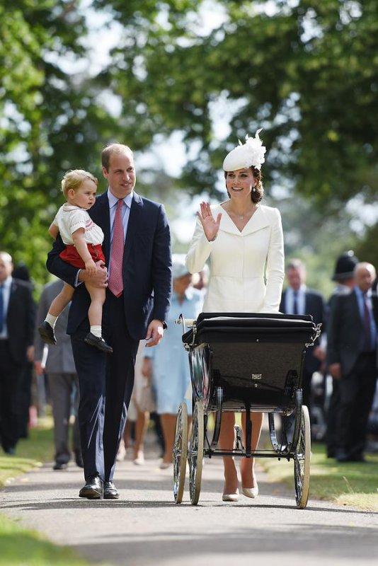 Baptême de la princesse Charlotte !