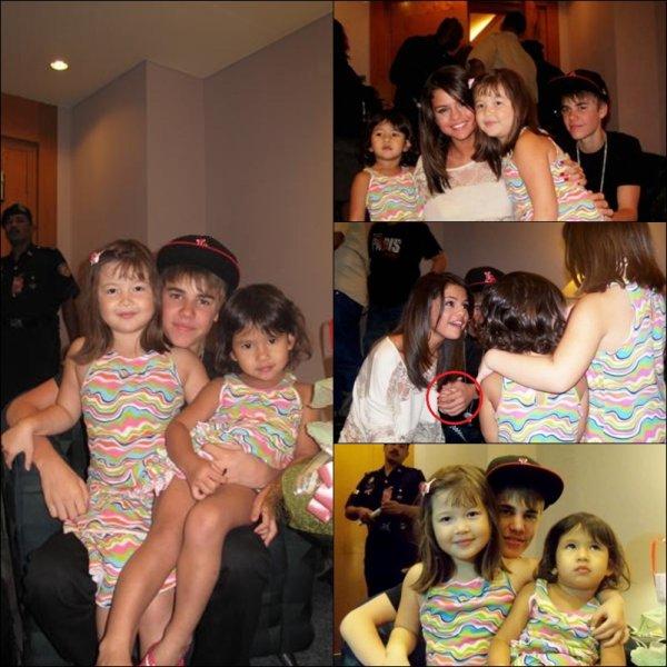 Photos : Jelena Et Des Fans