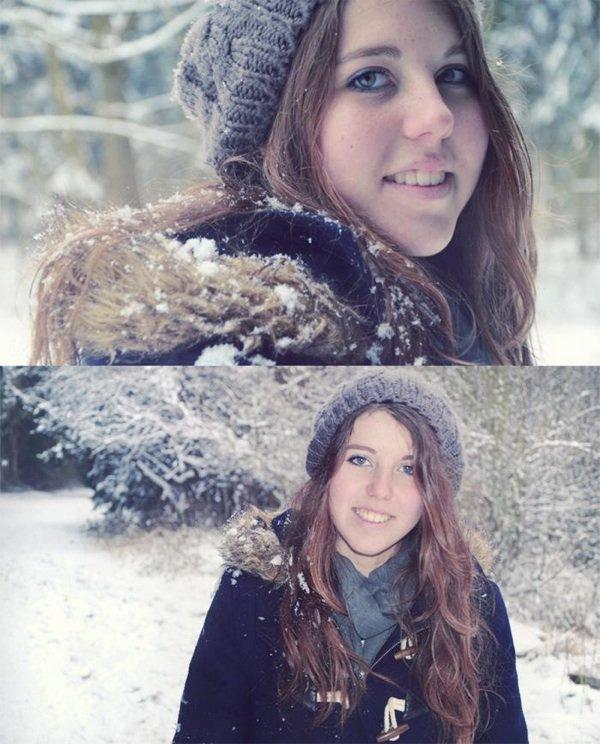 Sous la neige *_*