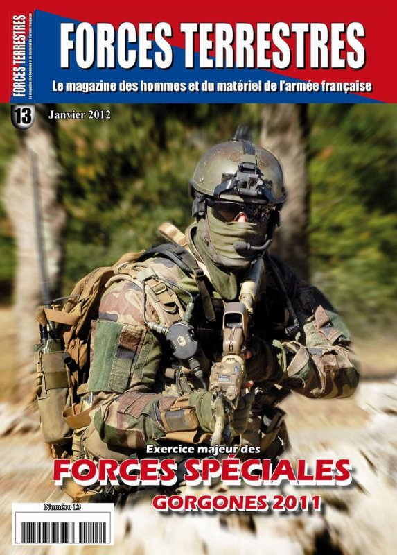 Forces Terrestres numéro 13 est disponible