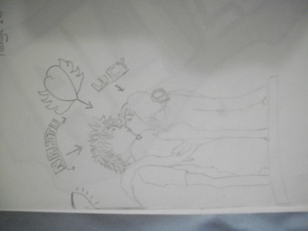 Mes dessins sur Fairy tail! <3