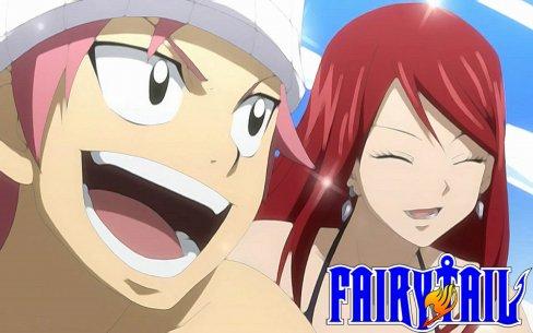 Les images de couples de Fairy tail (partie 2)