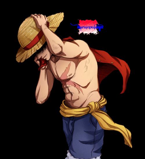 L'équipage au chapeaux de paille! Avant ou Après... Luffy!!