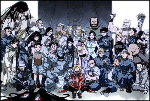 Full Metal Alchemist Brotherhood!