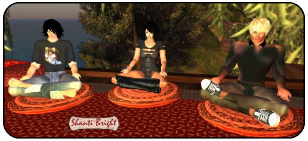 Méditation en trio