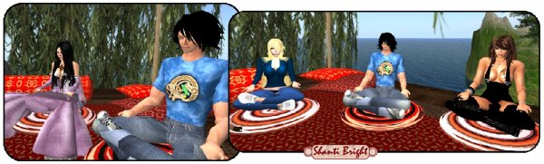 Méditation en petits groupes
