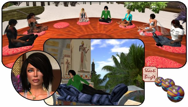 Méditation et sim egyptienne
