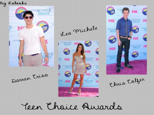 Teen Choice Award 2012: Glee remporte 3 prix.