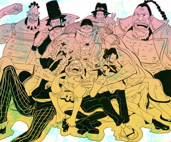 Whitebeard Pirates (Première Partie)