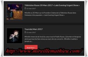 "Mireille Mathieu                                           ""Diverses"""