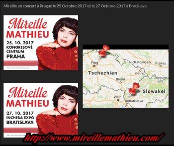 Mireille Mathieu im Oktober