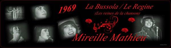 Mireille Mathieu 1969 in Italien