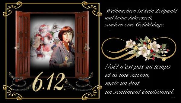 "Mireille Mathieu      ""6.Dezember 2017""     ......Nikolaus Tag .... Video zu ZDF"