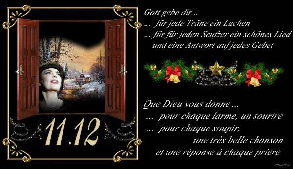 """Mireille Mathieu      """"11.Dezember 2017""""     ....... und...."""