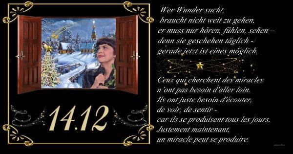 """Mireille Mathieu      """"14.Dezember 2017""""     ... Heute Abend im Radio"""