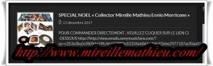 """Mireille Mathieu      """"15.Dezember 2017""""     ....... Heute vor 10 Jahren und...."""