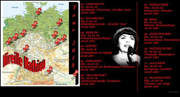 "Mireille Mathieu                            "" Diverses 2018"""