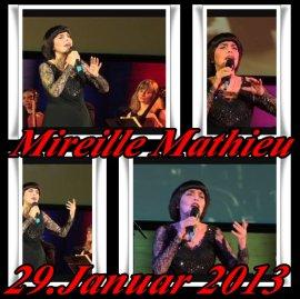 """Mireille Mathieu """"HEUTE....."""" und vor genau 5 Jahren"""
