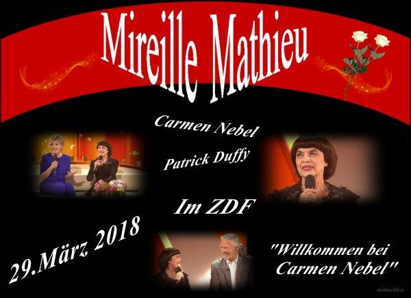 """Karfreitag 2018 / Mireille Mathieu in der """"C.N.Show"""" ....."""