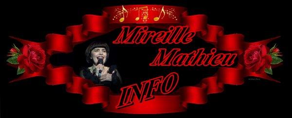 Die Mireille Mathieu Infostelle Deutschland teilt mit  ...DEUTSCHE U. FRANZ: PRESSE / LA PRESSE ALLEMANDE ET FRANCAISE