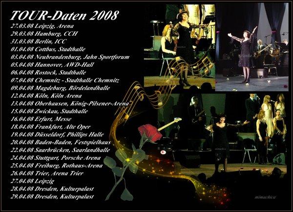 """Mireille Mathieu    """"Memories 2008 in Deutschland"""""""